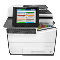 HP PageWide Managed MFP E58650dn
